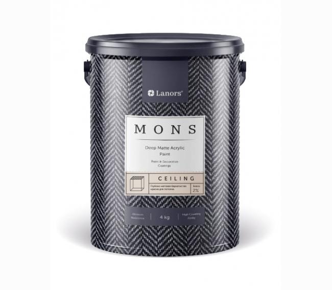 Краска Lanors Mons Ceiling
