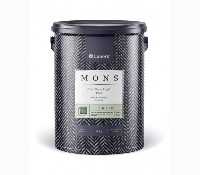 Краска Lanors Mons Satin