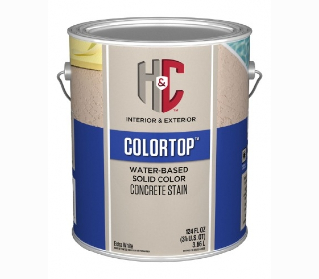 Защитное покрытие Sherwin Williams H&C COLORTOP Water-Based Solid Color Concrete Stain