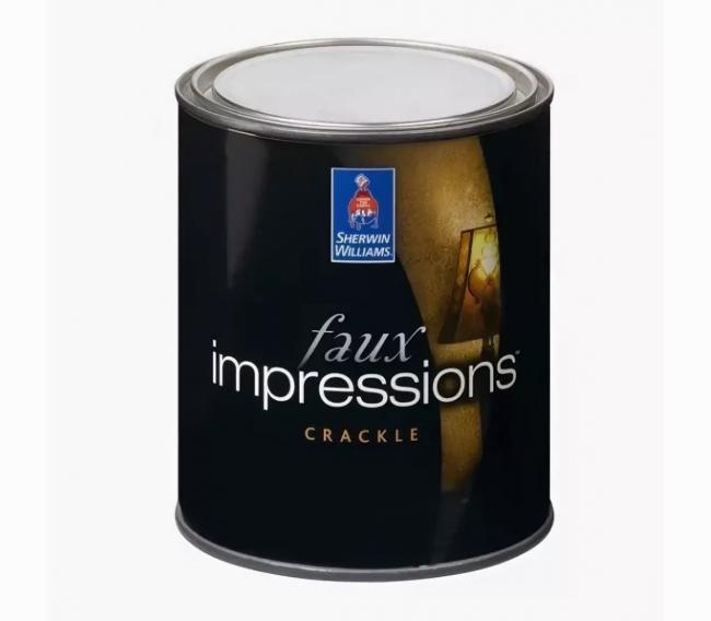 Интерьерная краска Sherwin Williams Faux Impressions Crackle