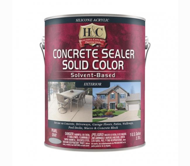 Акриловый лак Sherwin Williams H&C Concrete Sealer Solvent Based