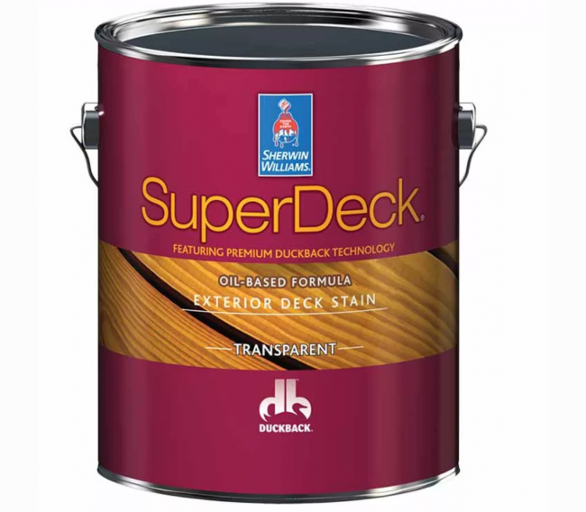 Пропитка Sherwin Williams SuperDeck Oil-Based Formula