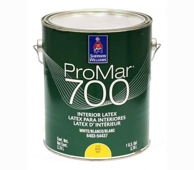 Интерьерная краска Sherwin Williams ProMar 700 Interior Latex Flat