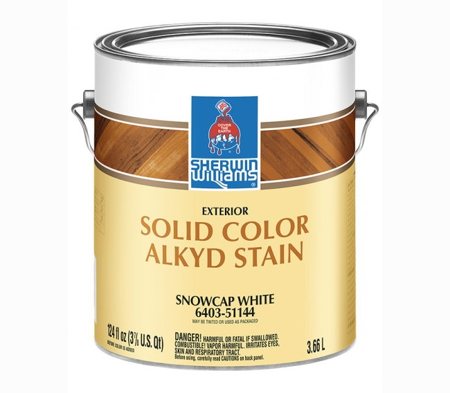Краска на масляной основе Sherwin Williams Alkyd Solid Color Stain