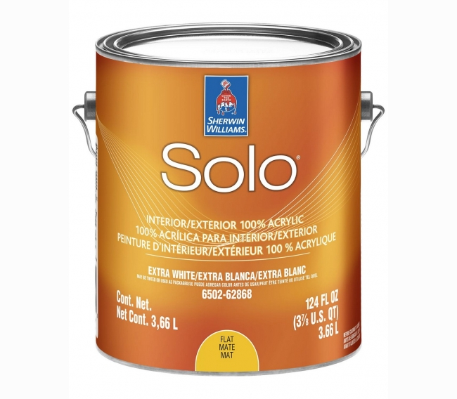 Интерьерная краска Sherwin Williams Solo 100% Acrylic Interior/Exterior