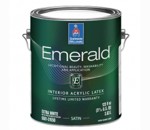 Интерьерная краска Sherwin Williams EMERALD Interior Acrylic Latex FLAT