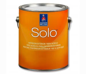 Интерьерная краска Sherwin Williams  Solo 100% Acrylic Latex Paint Flat