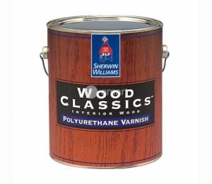 Полиуретановый лак Sherwin Williams Wood Classics Polyurethane Varnish