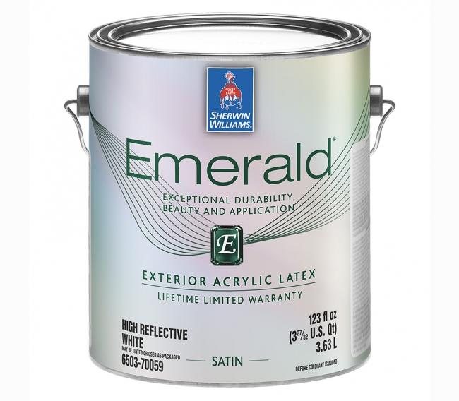 Фасадная краска Sherwin Williams Emerald Exterior Acrylic Latex Paint