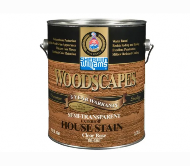 Пропитка Sherwin Williams WoodScapes Stain Exterior Polyurethane