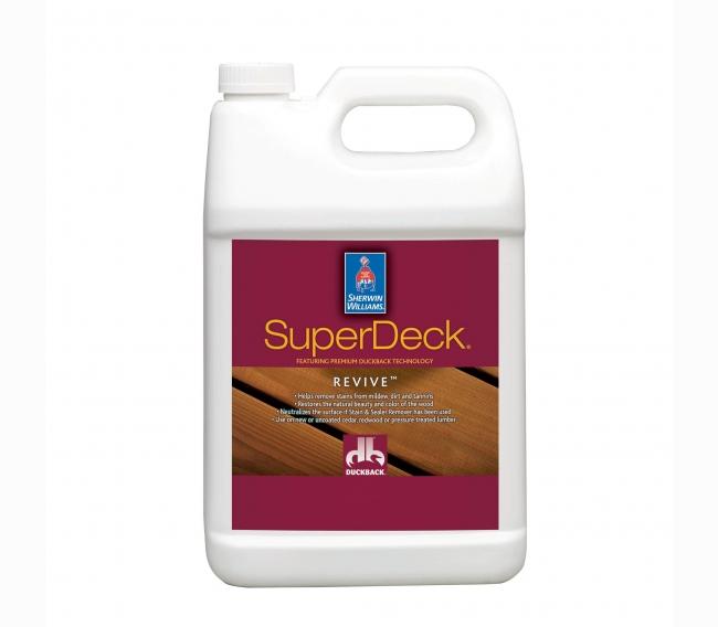 Очиститель Sherwin Williams SUPERDECK REVIVE Deck and Siding Brightener