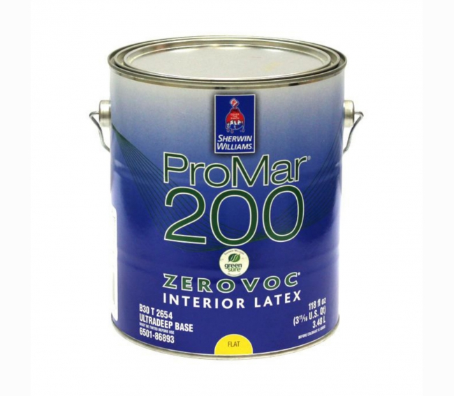 Интерьерная краска Sherwin Williams ProMar 200 Interior Latex Flat
