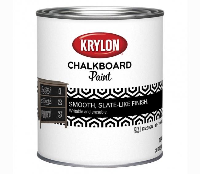 Краска с эффектом грифельной доски Sherwin Williams Chalkboard Paint