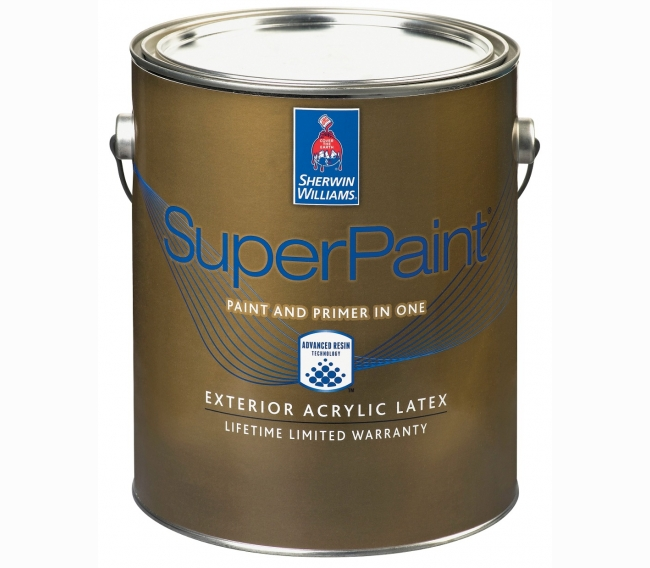 Фасадная краска Sherwin Williams SuperPaint Exterior Acrylic Latex