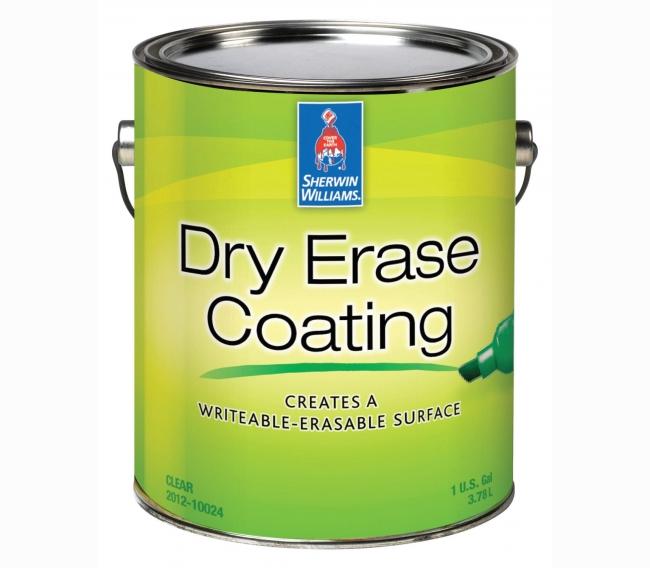 Интерьерная краска Sherwin Williams Dry Erase Coating