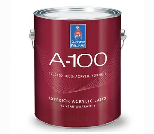Фасадная краска Sherwin Williams A-100 Exterior Acrylic Latex