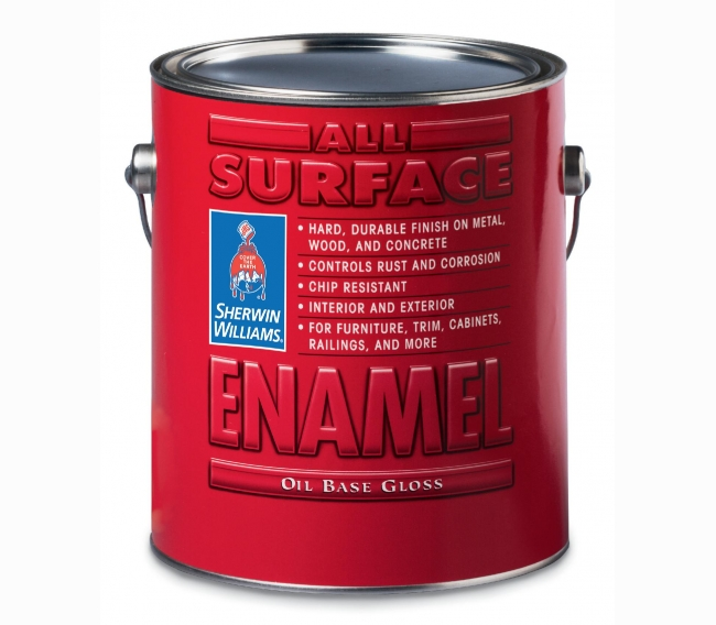 Антикоррозийная эмаль Sherwin Williams All Surface Enamel Oil Base Gloss