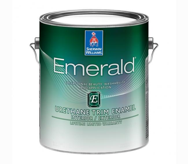 Интерьерная краска Sherwin Williams Emerald Urethane Trim Enamel