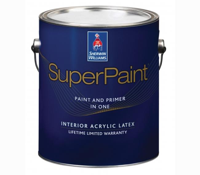 Интерьерная краска Sherwin Williams SuperPaint Interior Acrylic Latex Flat