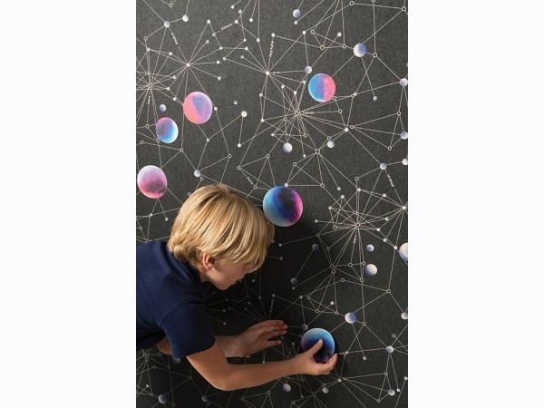 Наклейки многоразовые для детской Khroma Kidzzz Стикер Space KIZ1007