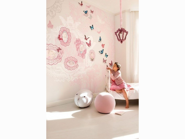 Панно для комнаты девочки Khroma Kidzzz Real Sample Butterfly DGKIZ71