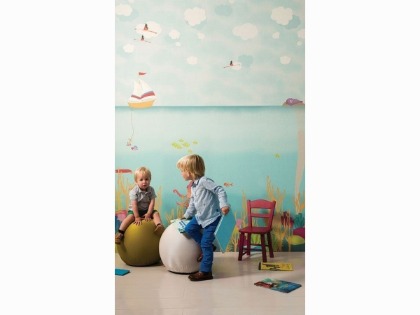 Панно для детской с морем Khroma Kidzzz Real Sample Sea DGKIZ13