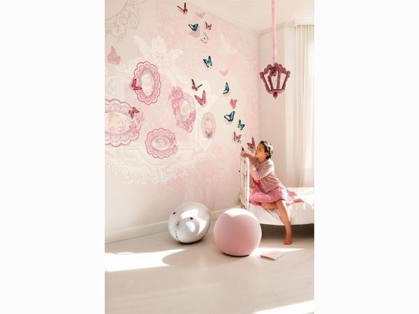 Панно розовое с фоторамками Khroma Kidzzz Real Sample Butterfly DGKIZ72