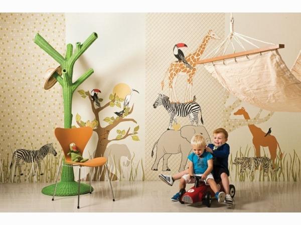 Панно с тропическими животными Khroma Kidzzz Real Sample Jungle DGKIZ42