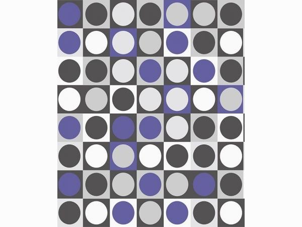 Обои геометрические контрастные Khroma Kidzzz Spectrum Blue Sand KIZ701