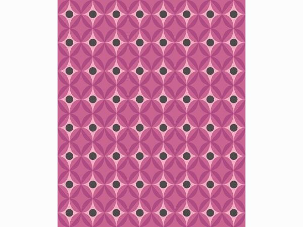 Обои розовые геометрические Khroma Kidzzz Candy Orchid KIZ302