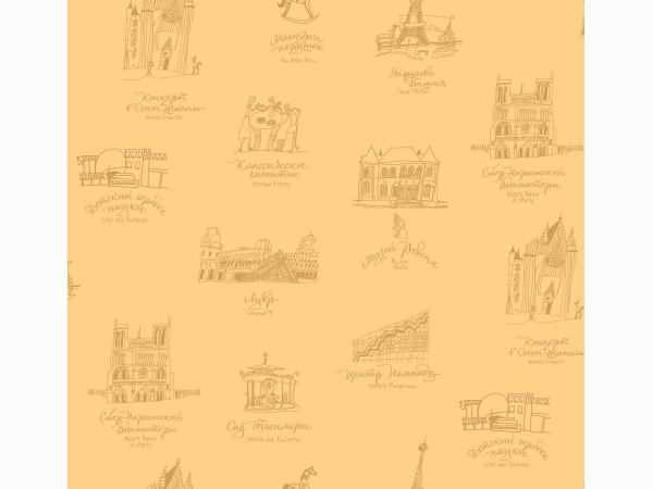 Обои Milassa Bon Voyage Reves de Paris D4 002