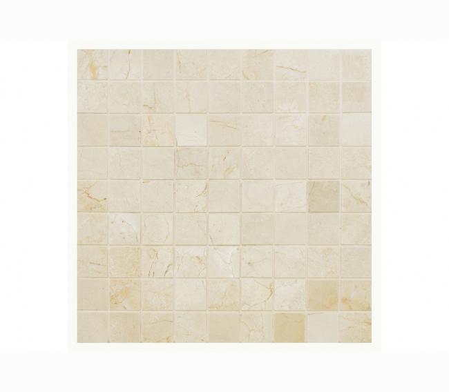 Каменная мозаика м CREMA MARFIL POL 30x30х7 мм