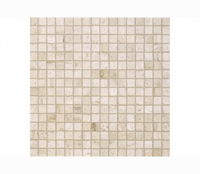 Каменная мозаика Orro Mosaic м TRAVERTINE CLASSIC TUM чип 15x15мм, 296*296мм