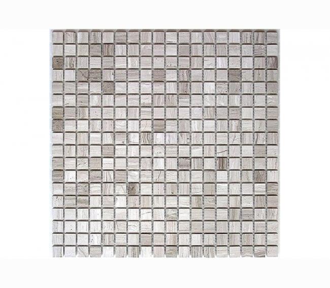 Каменная мозаика Orro Mosaic ORRO STONE (СКЛАД) м WOOD VEIN POL 15х15х4 мм